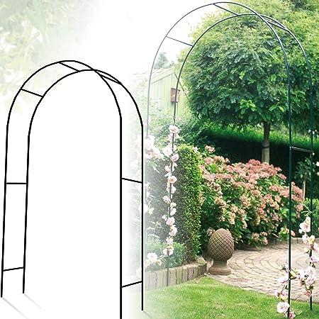 Garten-Rosenbogen 220x120x40cm Rankhilfe Rankgitter Torbogen Pergola Spalier