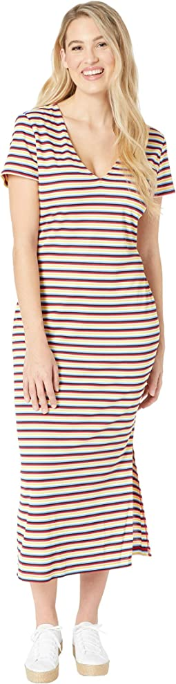 Multicolor Stripe Dress