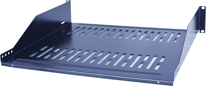 RAISING ELECTRONICS 19inch2U Relay Rack Mount Cantilever Network Shelf 14inch Deep 40LBs Capacity