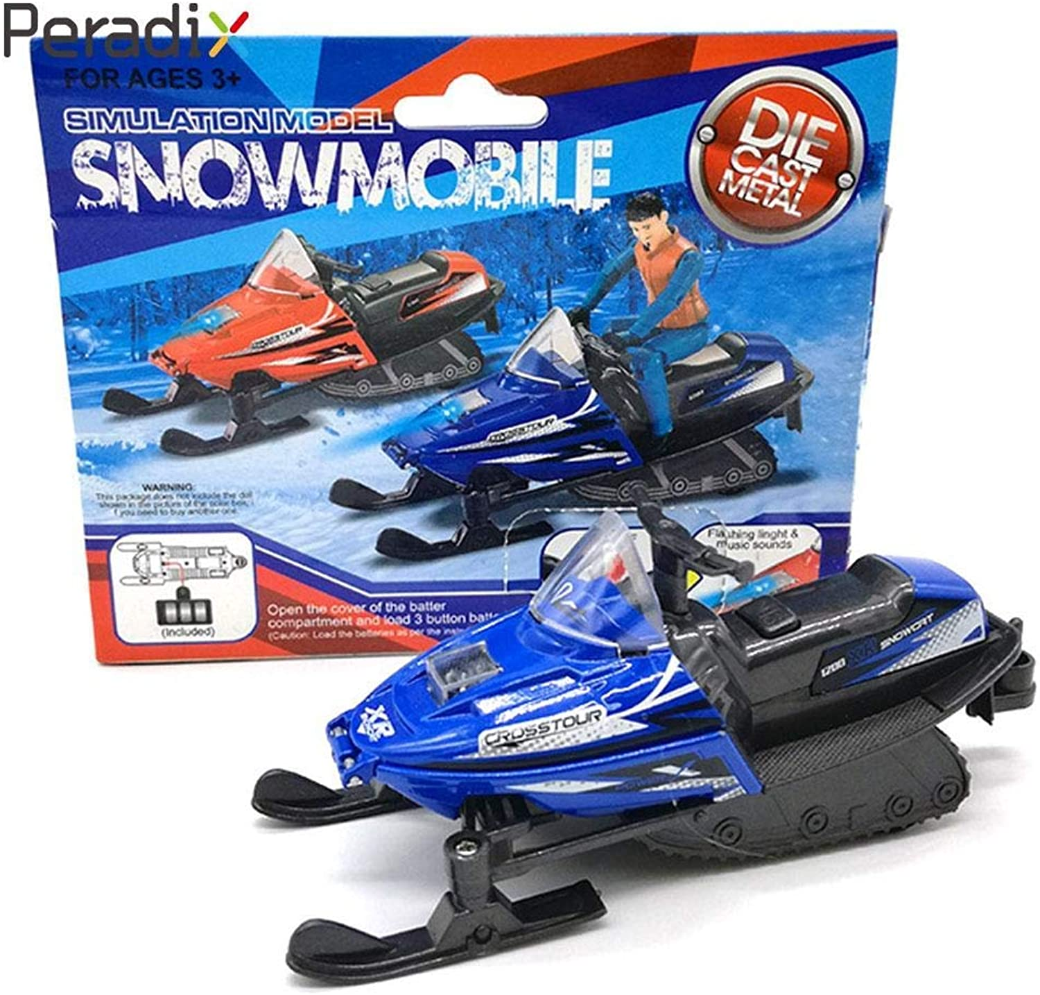 Cute Sledges Winter Snowfield Snow Motorcycle Toy Small Mini Vehicle Model Car Snowmobile Car Toy Motorcycle Cars Model