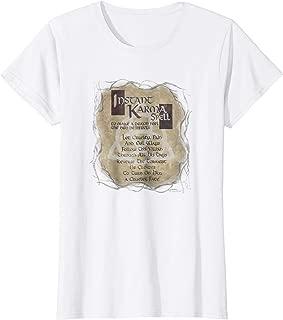Womens Charmed Instant Karma Spell Women's T Shirt