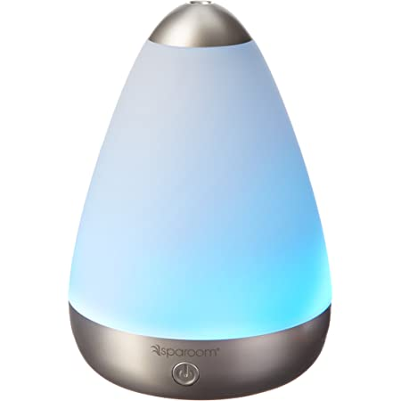 Amazon Com Sparoom Puremist Ultrasonic Essential Oil Diffuser And Fragrance Mister With Led Light Show 100ml Health Personal Care