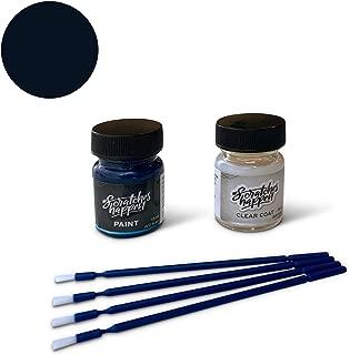 ScratchesHappen Exact-Match Touch Up Paint Kit Compatible with Audi Deep Sea Blue (LZ5A/8A) - Essential