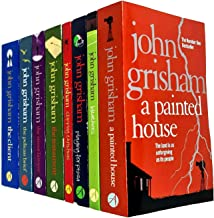 John Grisham Collection 8 Books Set (A Painted House, Bleachers, Playing for Pizza, Skipping Christmas, The Testament, The...