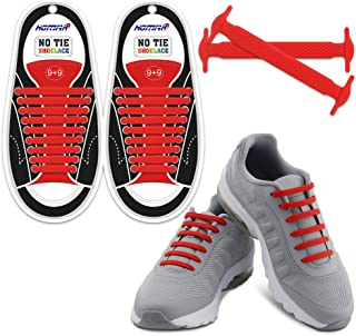riemot Lacci Scarpe Colorati per Bambini e Adulti No Tie Shoe Laces per Sneakers Stivali e Scarpe Casual Marroni Stringhe Scarpe Autobloccanti Tondi 2mm