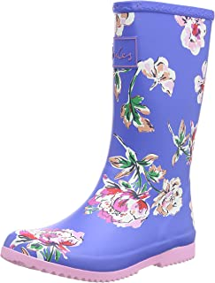 Joules Roll Up Welly, Botte Fille