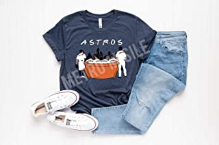 Astros Friends Shirt - Friends T-Shirt - Houston Astros Tee - FRIENDS and ASTROS - Springer - Altuve - Verlander - Reddick - Astros Shirt