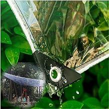 PENGFEI Transparant dekzeil Heavy Duty, Outdoor Decoratie Clear Waterdichte Doek, Tuin Bloemen Plant Shelter, Duurzaam Reg...