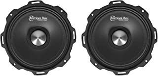 "(2) American Bass GODFATHER 6.5"" 600w Open Back Midrange Car Speakers GF 6.5MR photo"