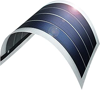 JIANG Solar Battery Charger Flexible Thin Film Solar Panel Module DIY 1W 6V Cell Rechargeable Battery, Transparent