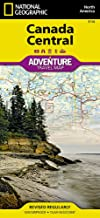Canada Central (National Geographic Adventure Map)