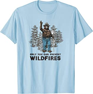 Smokey Bear Only You Can Prevent Wildfires T-shirt