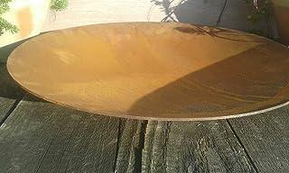 terracotta-toepfe-de Schale ca. 40 cm !! besonders dick !! 2mm !! aus Metall - Edelrost Rost Eisen Deko Garten Feuerschale Pflanzschale