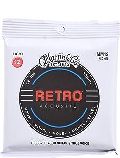 Martin Retro Acoustic MM12 Monel Nickel Light 12-54