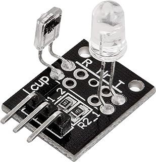 AZDelivery KY-039 Módulo Sensor de latidos del corazón Detector de latidos del dedo para Arduino con eBook incluido