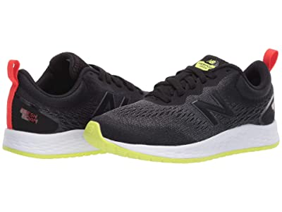 New Balance Kids Fresh Foam Arishi v3 (Little Kid/Big Kid) (Black/Lemon Slush) Boys Shoes