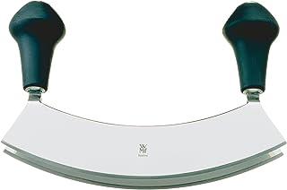 WMF Wiegemesser, mit 2 Klingen, 17,5 cm, groß, 2-schneidig, geschmiedeter Spezialklingenstahl, zum feinen Zerkleinern oder Hacken