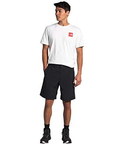 The North Face Flat Front Adventure 9 Shorts (TNF Black) Men
