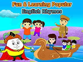 Fun And Learning Popular English Rhymes