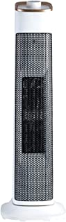LYZP Vertical Fan Heater, 2000w Ceramic Space Heater with Built-in Thermostat 3 Heat Settings Quiet Rapid Heating for Home...