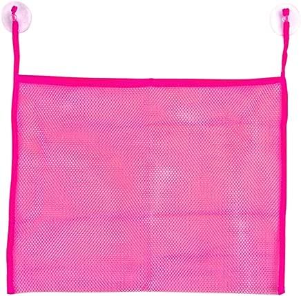 zrshygs Baby Child Bathtub Toy Mesh Storage Bag Baby Mesh Toy Bag Debris Storage Mesh Bag Toiletries Storage Bag Hot Pink 1Pc