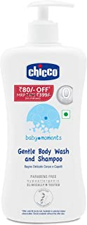 Chicco Gentle Body Wash and Shampoo 500Ml