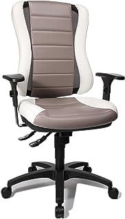 Topstar HE30PS033 Head Point RS SY Chaise de Bureau Gris/Blanc 47 x 50 x 120 cm