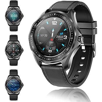 Smartwatch, Reloj Inteligente 1.3 Inch HD Pulsera Actividad de Fitness IP68 Impermeable Pulsera de Actividad Inteligente con Monitor de Sueño Contador de Caloría Pulsómetros Podómetr para Android iOS
