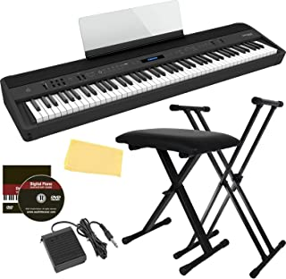 Roland FP-90X 88-Key Digital Piano Bundle with Adjustable St