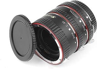 D&F AF Enfoque Automático Tubo de Extensión Macro Set Extreme Close-Ups para Canon EOS EF EF-S Lente Cámaras Réflex Digitales como Canon 7D500D600D700D1100D5D Mark II III Rebel T2iT3iT5i