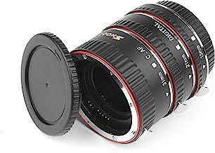 SHOOT AF Set de Tubo de extensión Macro de Enfoque automático para Canon EOS EF EF-S Lente Cámaras DSLR 1100D 700D 650D 600D 550D 500D 450D 400D 350D 300D 100D 70D