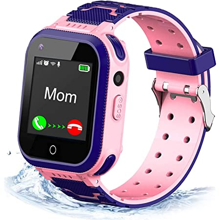4G Kids Smart Watch,Kids Phone Smartwatch GPS Tracker,Call,Alarm,Pedometer,Camera,SOS,Touch Screen WiFi Bluetooth Wrist Watch Boys Girls iPhone iOS Android,3-12 Years Old Children Student Gift