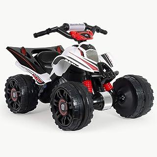 INJUSA- 12 V Quad Mercedes ATV 12V Licenciado para Niños de más de 3 Años con Marcha Atrás y Freno Eléctrico, (66022)