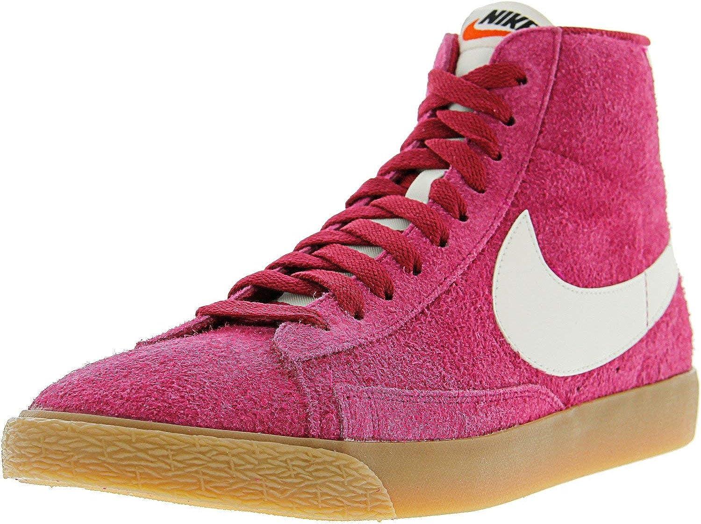 Nike Womens Blazer Mid Suede Vintage Retro High Top Fashion Sneakers