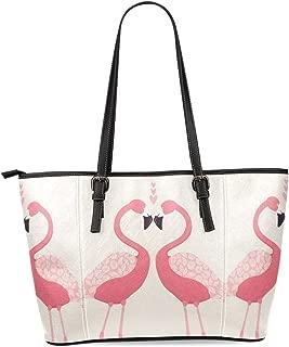 InterestPrint Women's Leather Tote Shoulder Bags Handbags