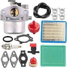 Mannial MIA11798 Carburetor Carb fit John Deere JS20 JS25 JS26 JS28 JS30 JS36 JS38 JM26 JM36 Mowmentum Walk-Behind Lawn Mower with 491588 491435S Air Pre Filter