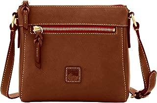Dooney & Bourke Allison Florentine Leather Crossbody Chestnut