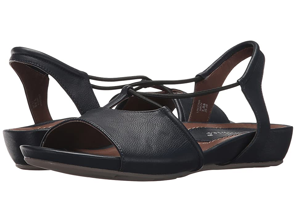 Earth Lacona Earthies (Navy Premium Soft Leather) Women