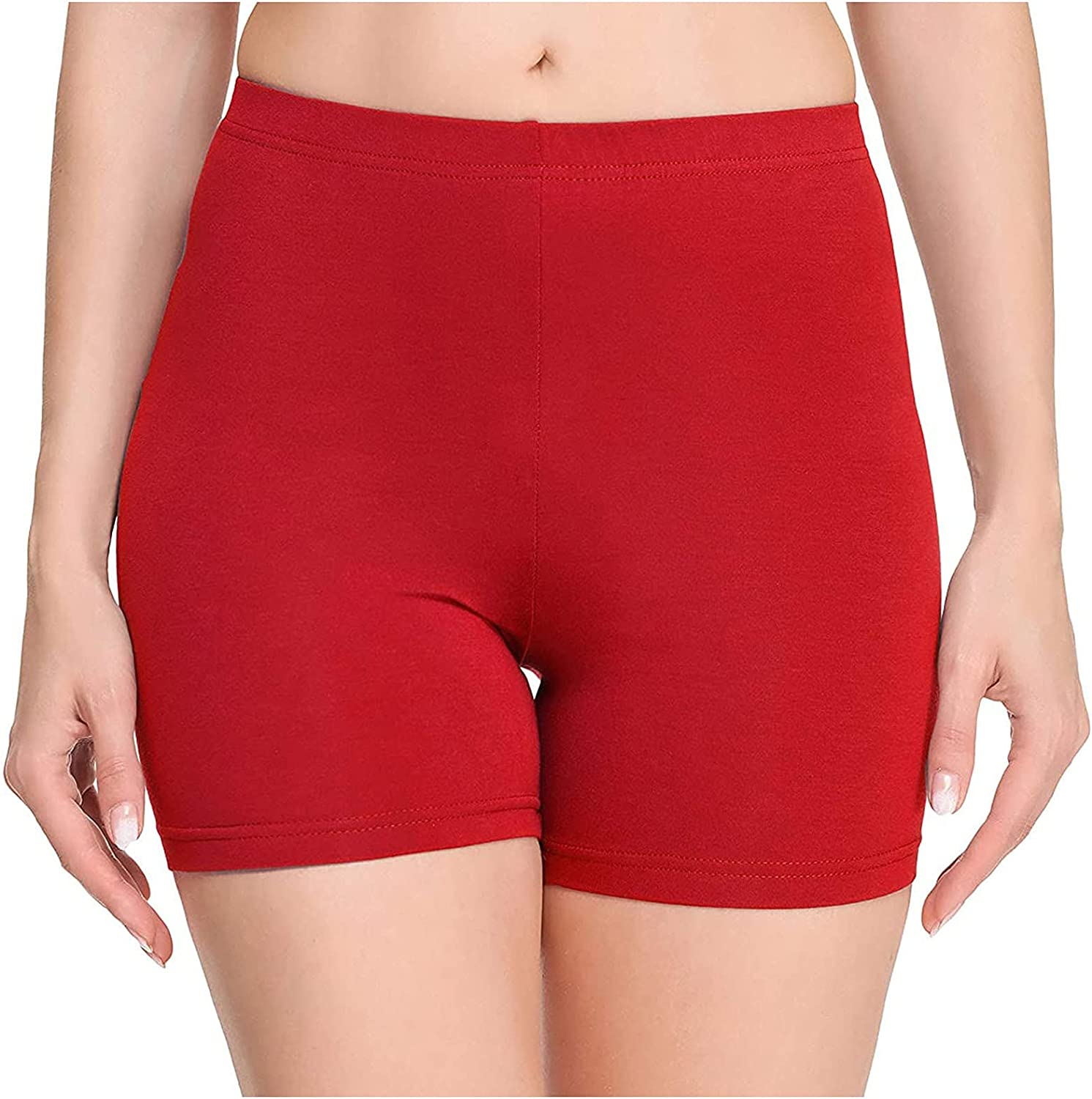 FlekmanArt Leggings Shorts for Women Control Waist High We OFFer at cheap prices Special Campaign Tummy Yo