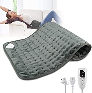 """Heating Pad,Electric Heating Pad 12""""x24"""" Large Heating Pads for Back Pain Auto Shut Off Heat Pad Moist Heating Pad with Ti..."""