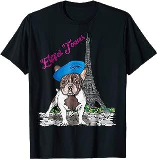 Eiffel Tower Paris Shirt - Pug on Paris Eiffel Tower T Shirt