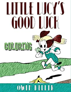 Little Lucy's Good Luck Coloring Book