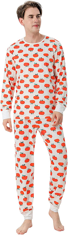 Goldweather Halloween Family Matching Pajamas Pumpkin Print Holiday Party Sleepwear Women Men Baby Pajamas Long Sleeve Sets