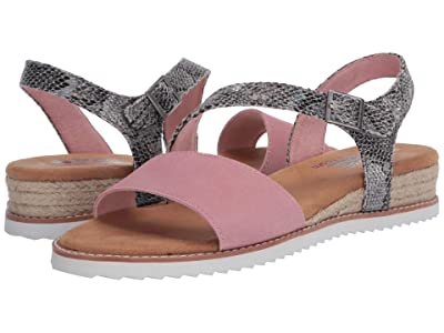 BOBS from SKECHERS Desert Kiss Cactus Rose (Blush) Women