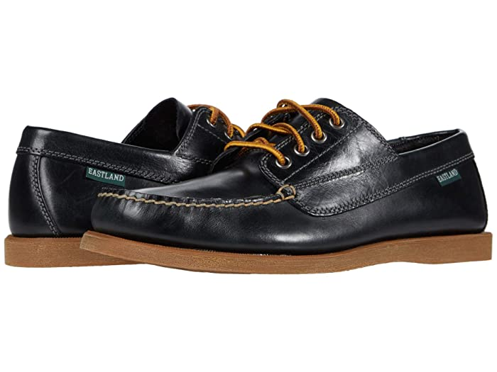 Mens Retro Shoes | Vintage Shoes & Boots Eastland 1955 Edition Falmouth Black Mens Lace up casual Shoes $100.00 AT vintagedancer.com