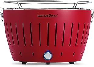 LotusGrill G-RO-34 - Barbacoa de carbón sin humo 35 x 26 x