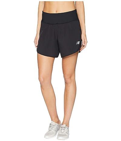 New Balance 5 Impact Shorts (Black) Women