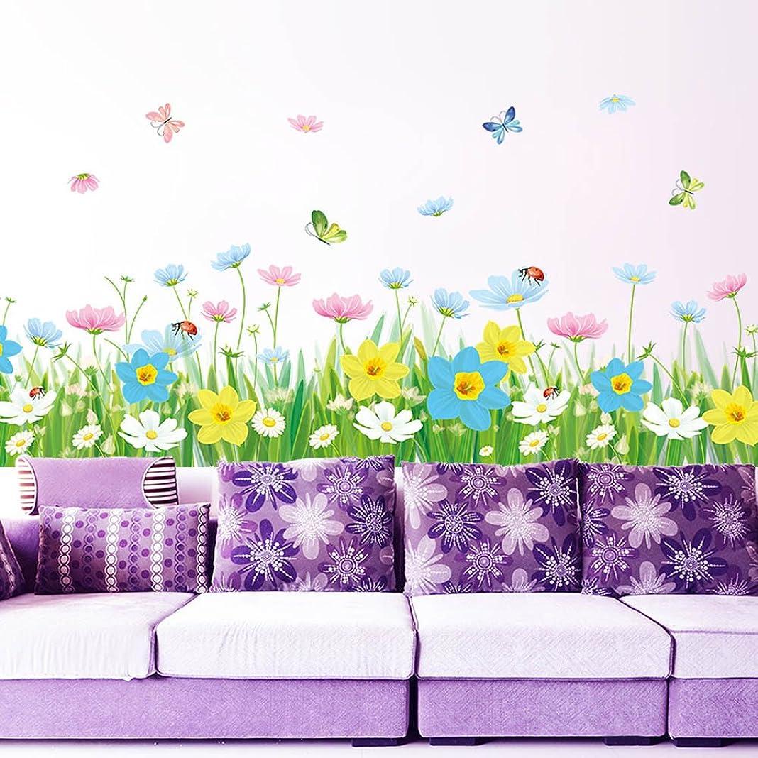 ペネロペ混合ペダルTovadoo ウォールステッカー 植物 花 DIY 可愛い 子供部屋 リビング ファッション おしゃれ インテリア リフォーム 模様替え