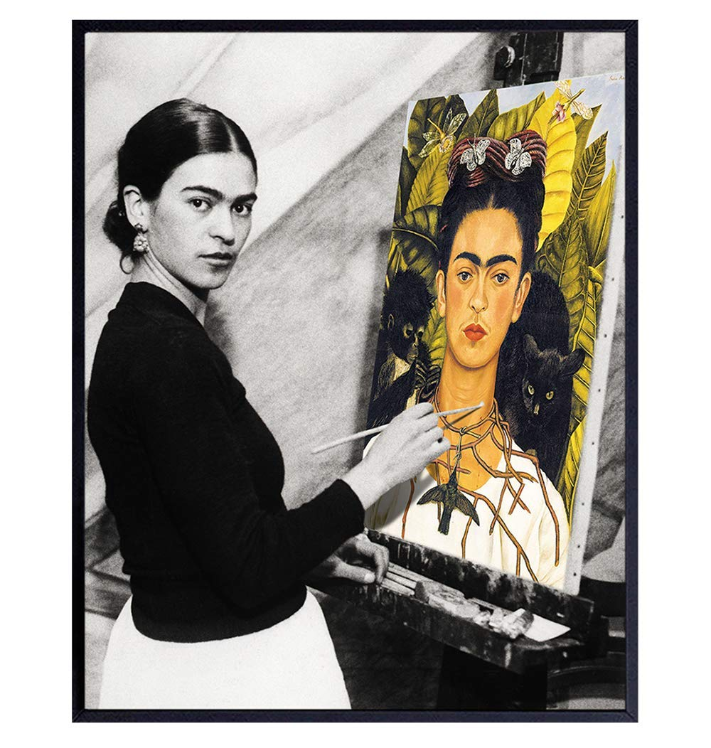 Frida Kahlo Art - Max 90% OFF Poster 8x10 Baltimore Mall Wall Mexican F