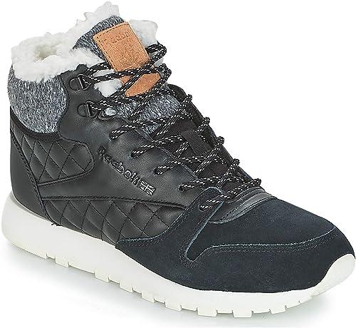 Reebok Classic Classic Leather Artic Stiefel Turnschuhe Damen SchwarzTurnschuhe SchwarzTurnschuhe SchwarzTurnschuhe High  großhandel billig